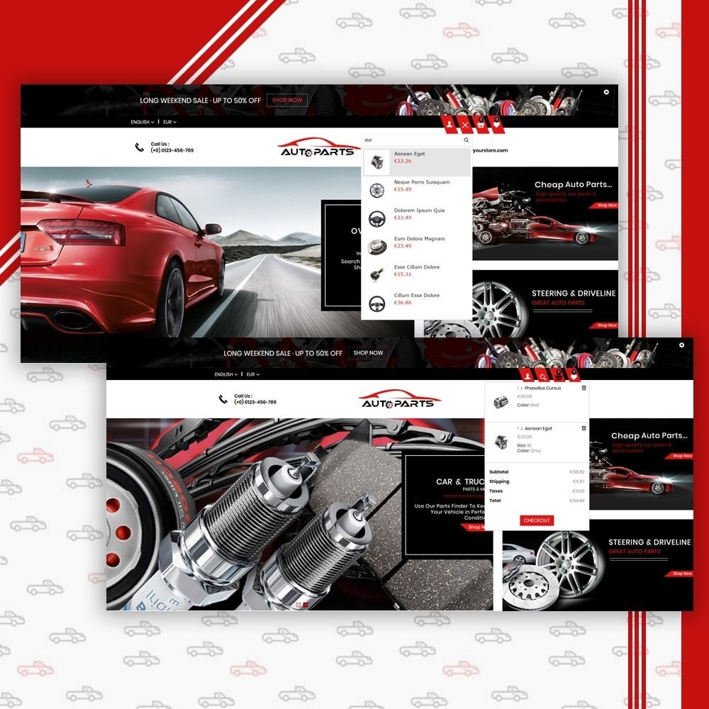 theme - Auto & Moto - Auto Parts Shop - 6