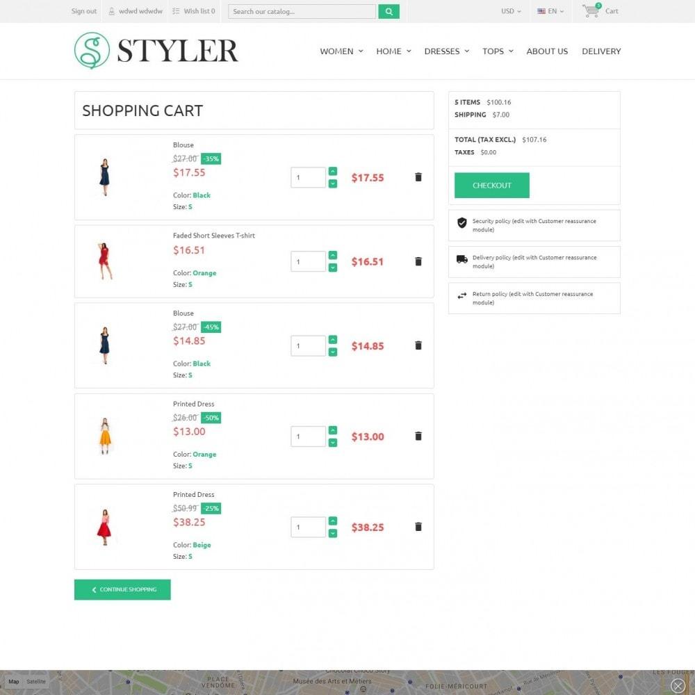 theme - Мода и обувь - InStyle - Магазин Одежды - 6