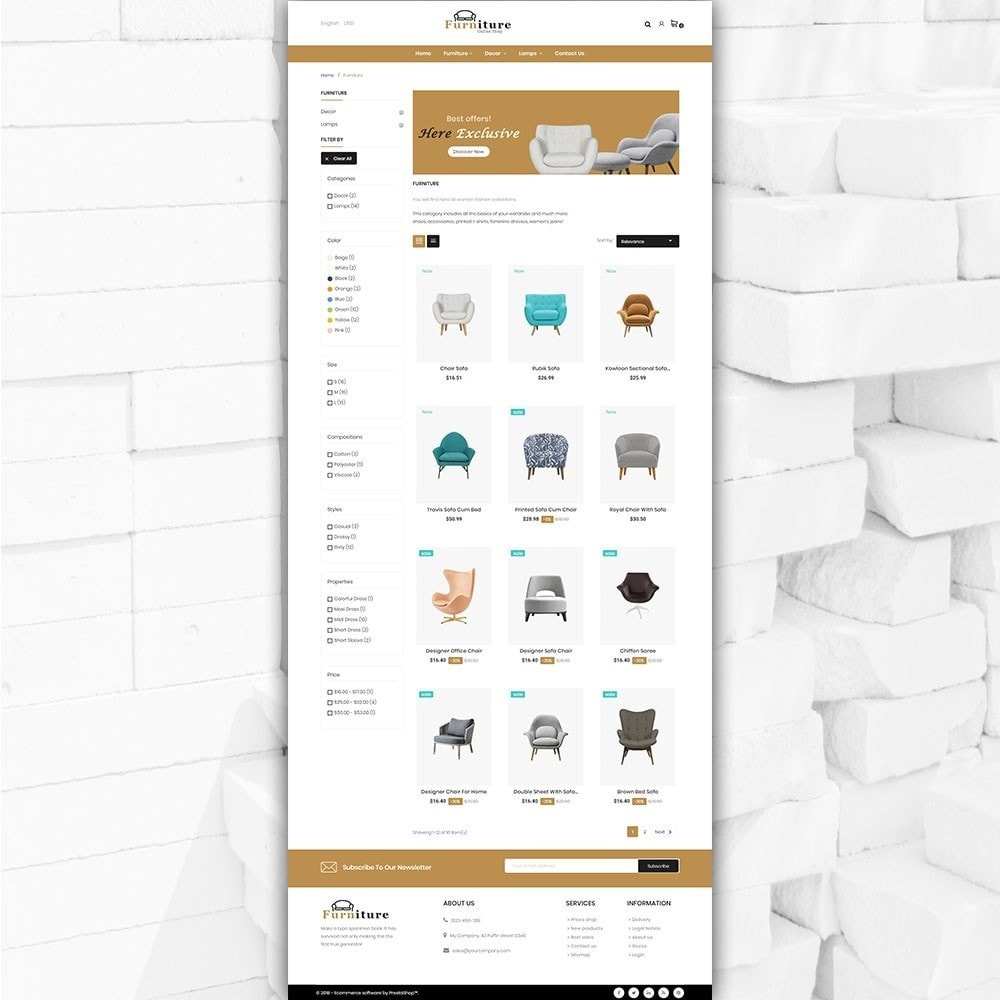theme - Heim & Garten - Furniture shop - Furniture and home decor store - 3