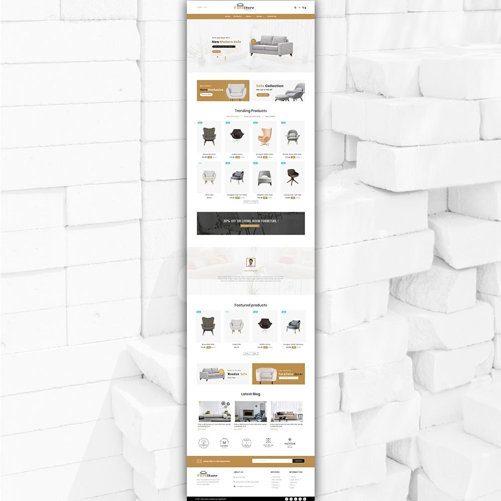 theme - Dom & Ogród - Furniture shop - Furniture and home decor store - 5