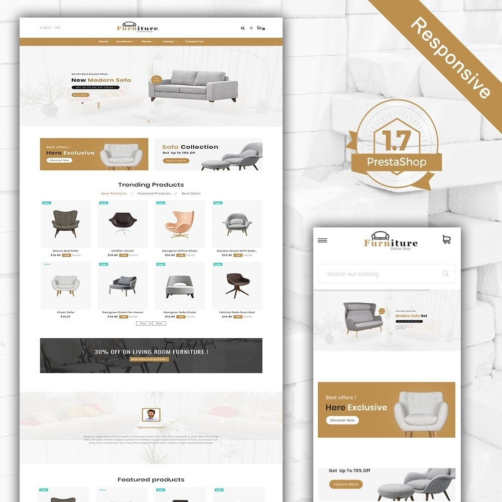 theme - Дом и сад - Furniture shop - Furniture and home decor store - 2