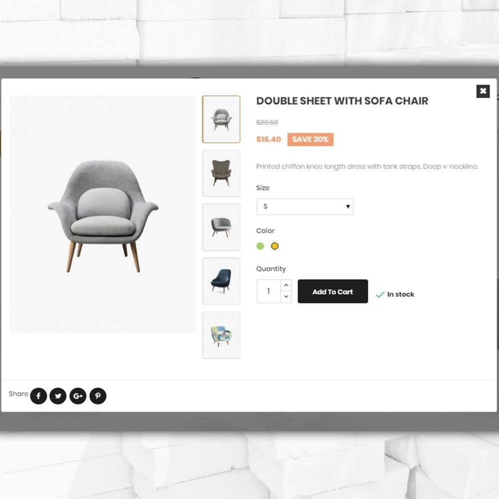 theme - Дом и сад - Furniture shop - Furniture and home decor store - 7
