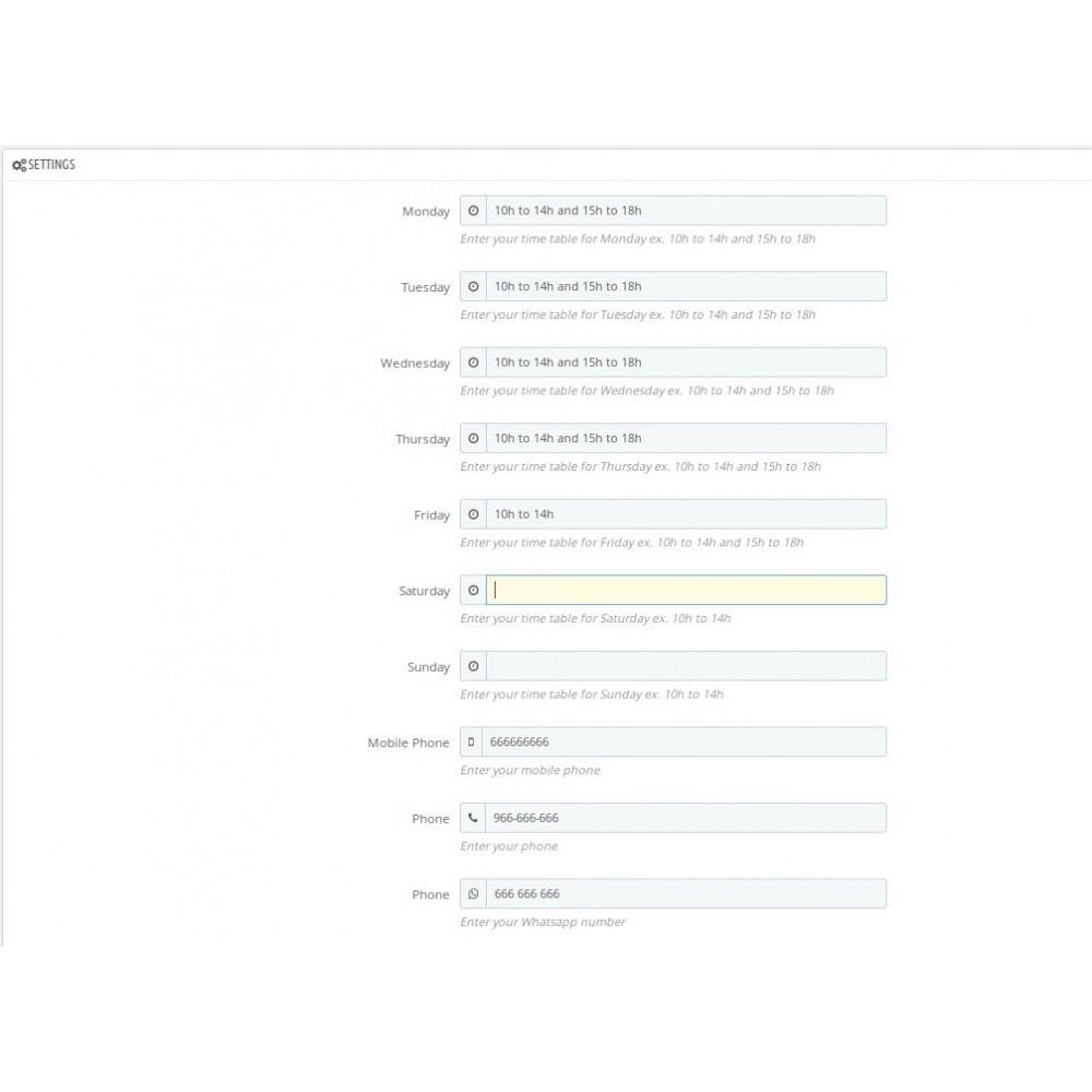 module - Personalizzazione pagine - Moreshopinfo - 4