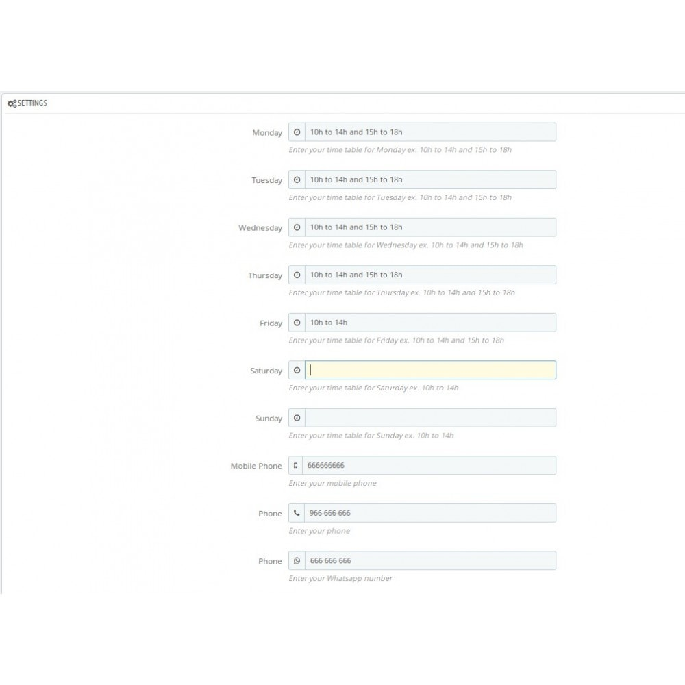 module - Personalisering van pagina's - Moreshopinfo - 4