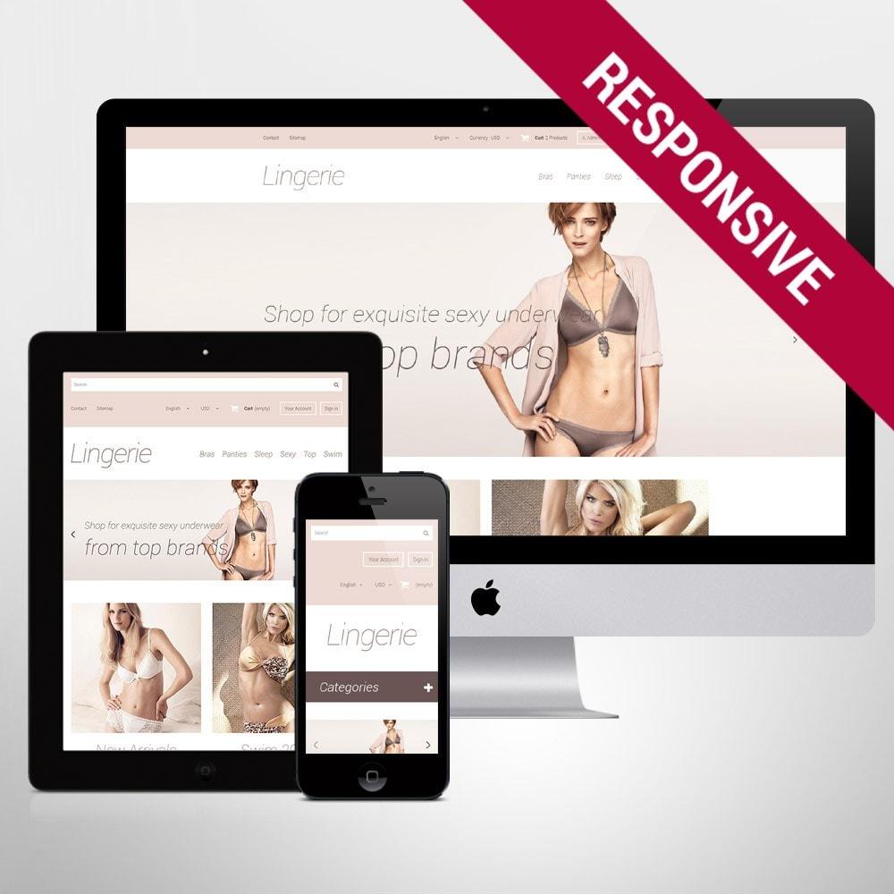 theme - Mode & Chaussures - Elegant Lingerie - 1