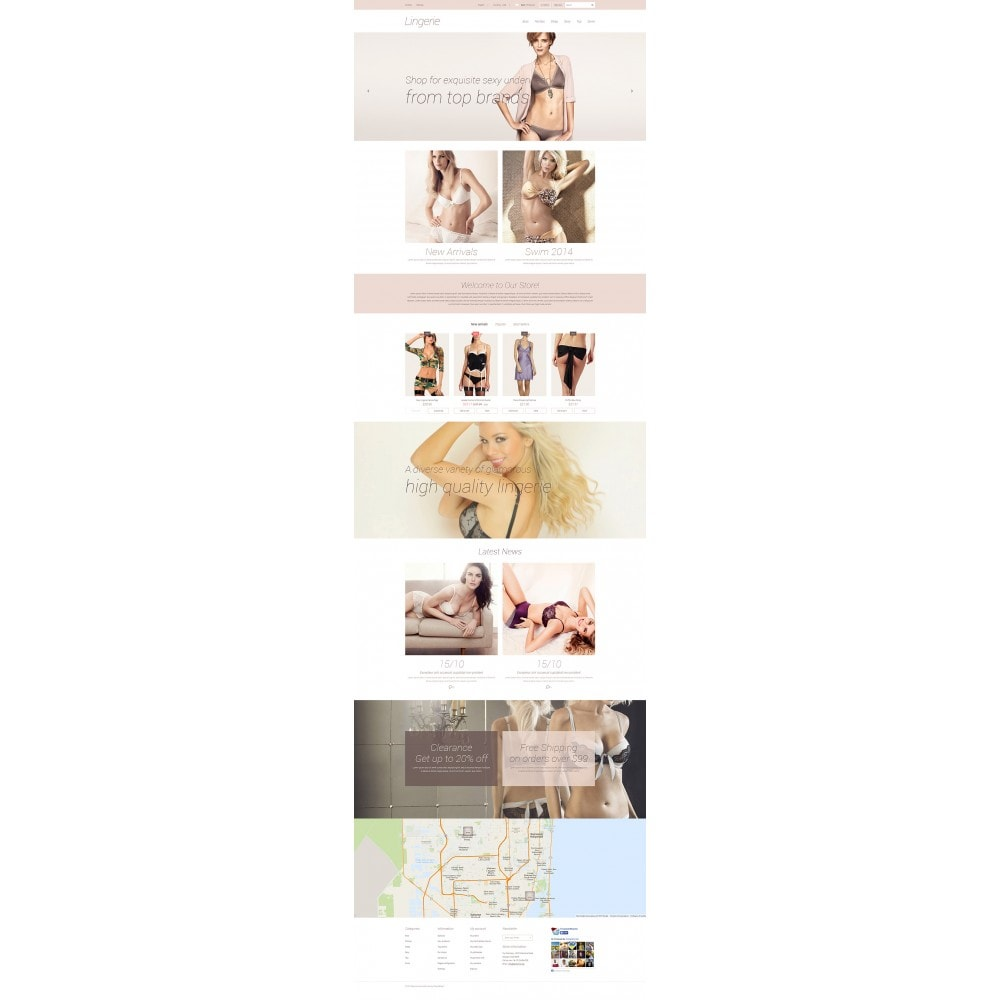 theme - Mode & Chaussures - Elegant Lingerie - 2