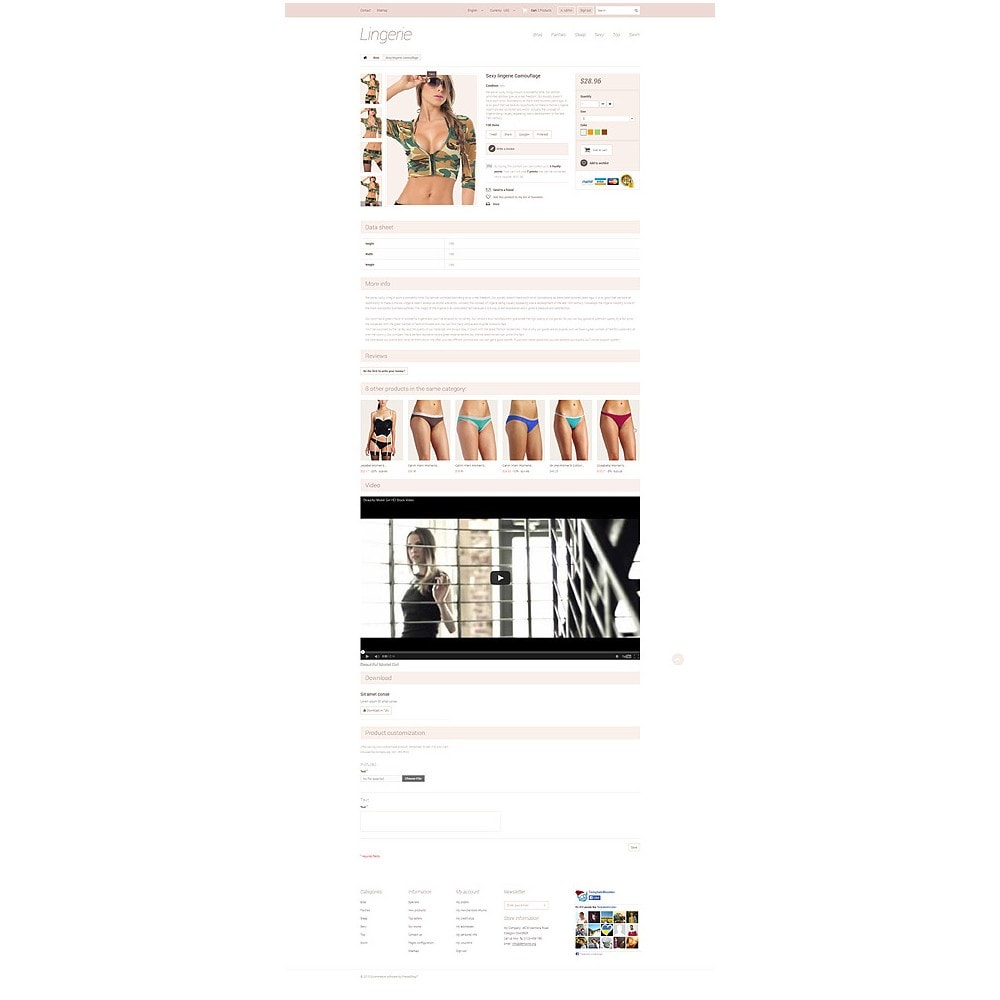 theme - Mode & Chaussures - Elegant Lingerie - 6