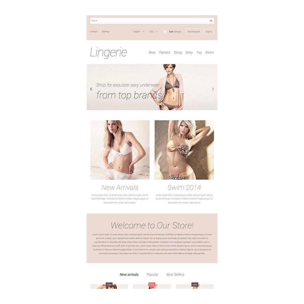 theme - Mode & Chaussures - Elegant Lingerie - 7