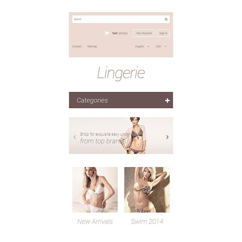 theme - Mode & Chaussures - Elegant Lingerie - 8