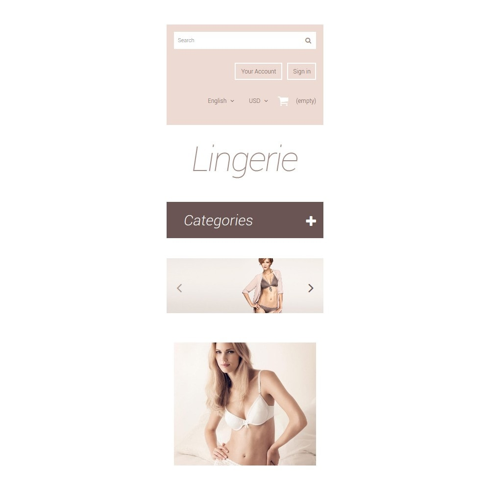 theme - Mode & Chaussures - Elegant Lingerie - 9