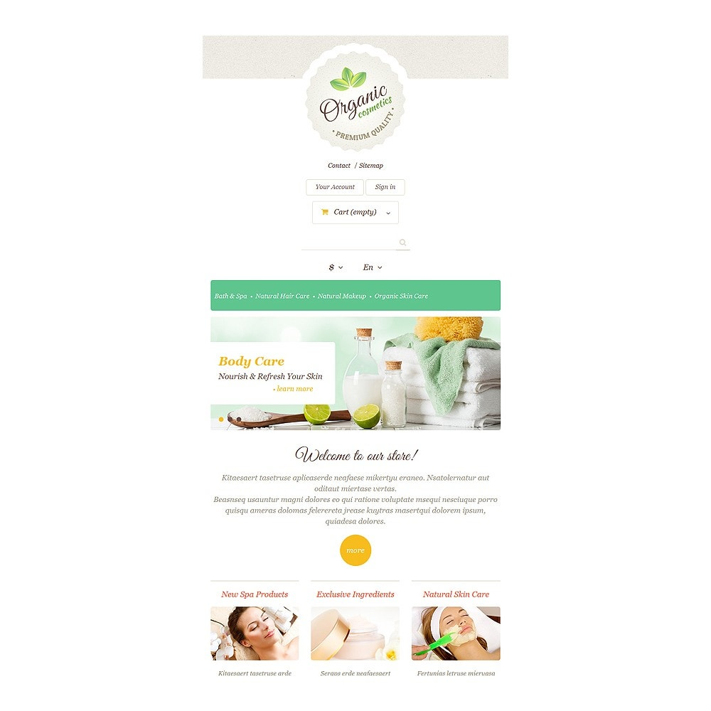 theme - Mode & Schoenen - Organic Skin Care - 7