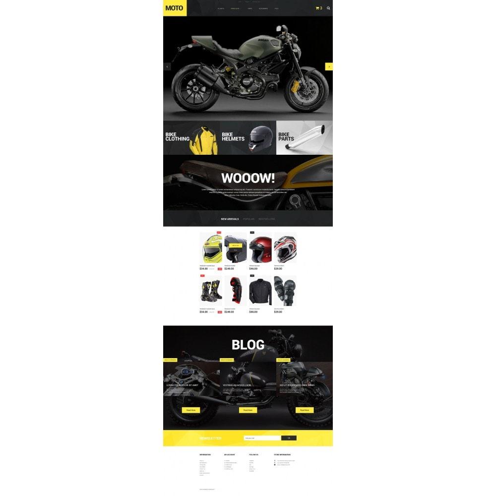 theme - Deportes, Actividades y Viajes - Motorcycle Store - 2