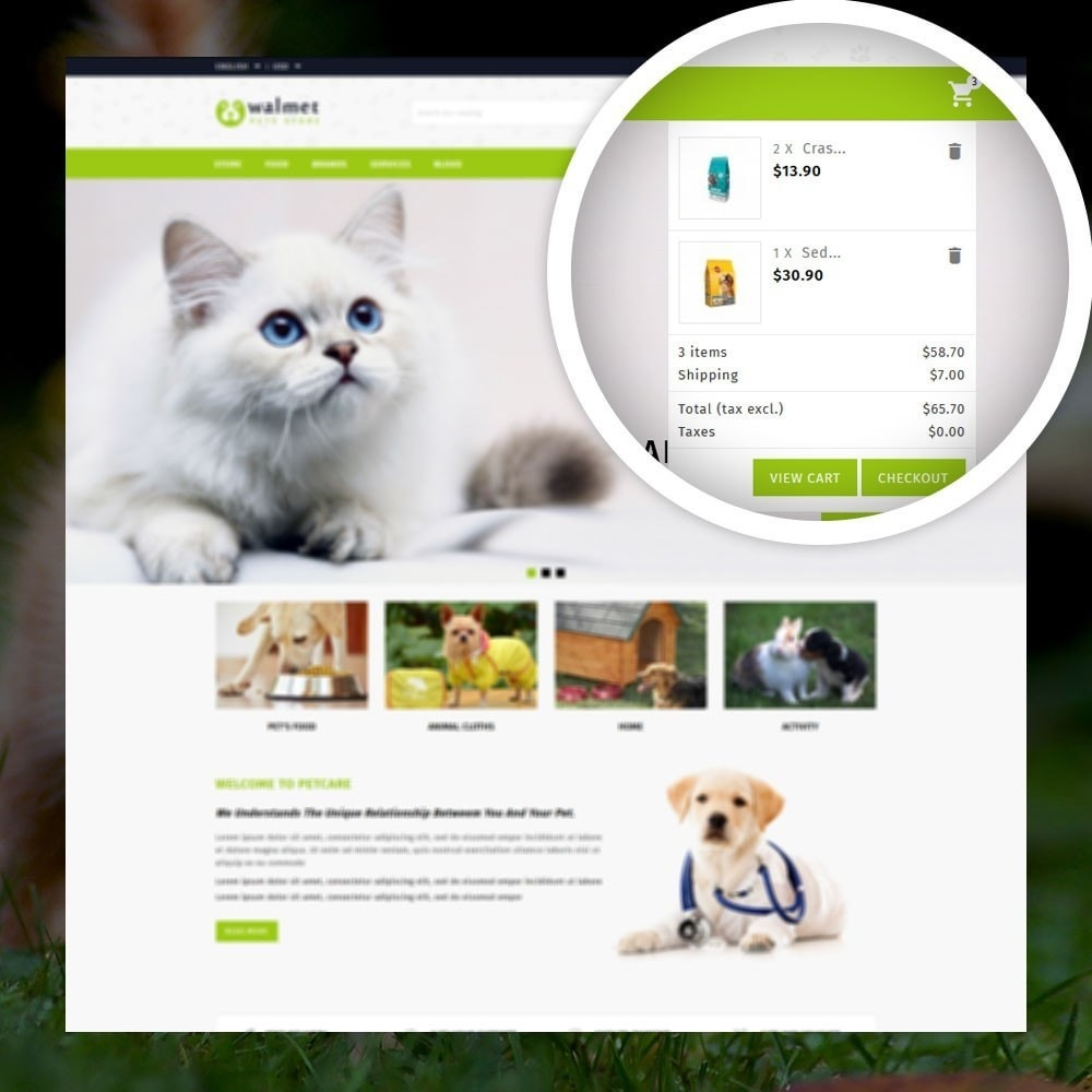 theme - Animals & Pets - Walmet - Pets Store - 6