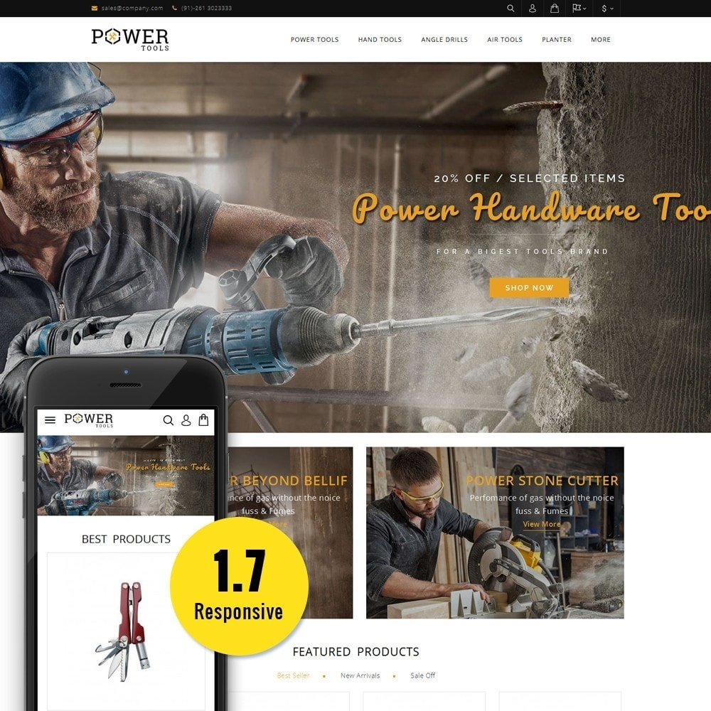 theme - Coches y Motos - PowerTools Store - 1