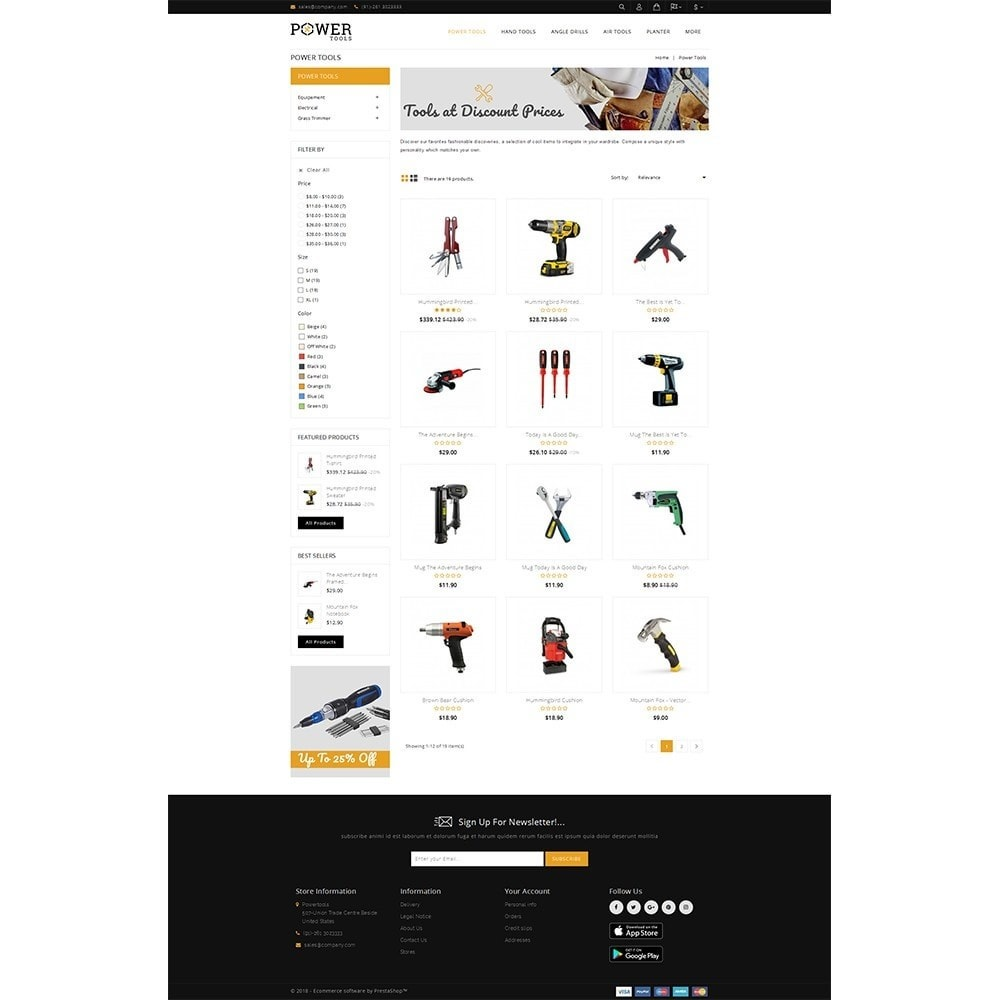 theme - Coches y Motos - PowerTools Store - 3