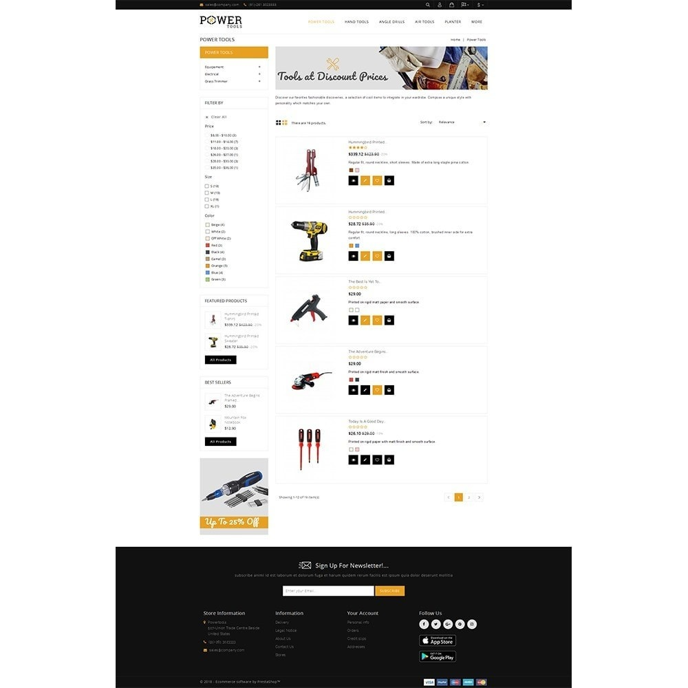 theme - Coches y Motos - PowerTools Store - 4