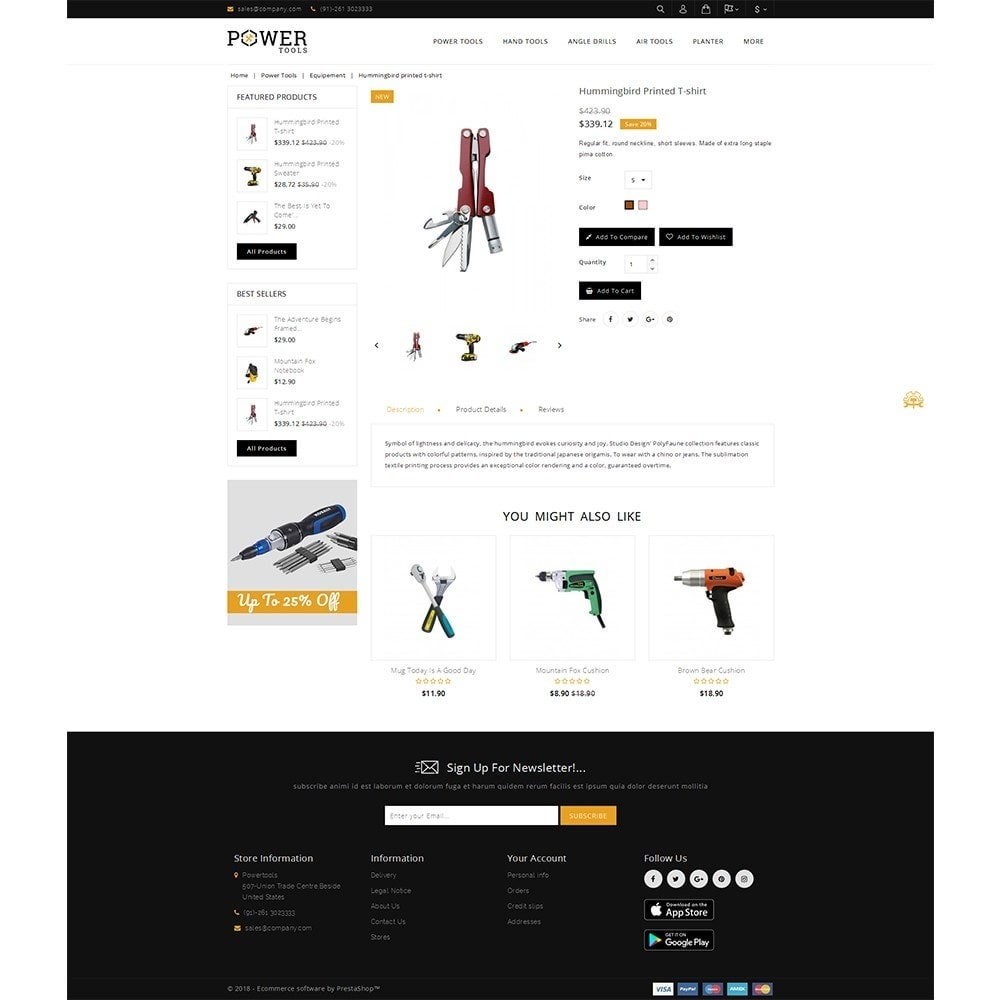 theme - Coches y Motos - PowerTools Store - 5