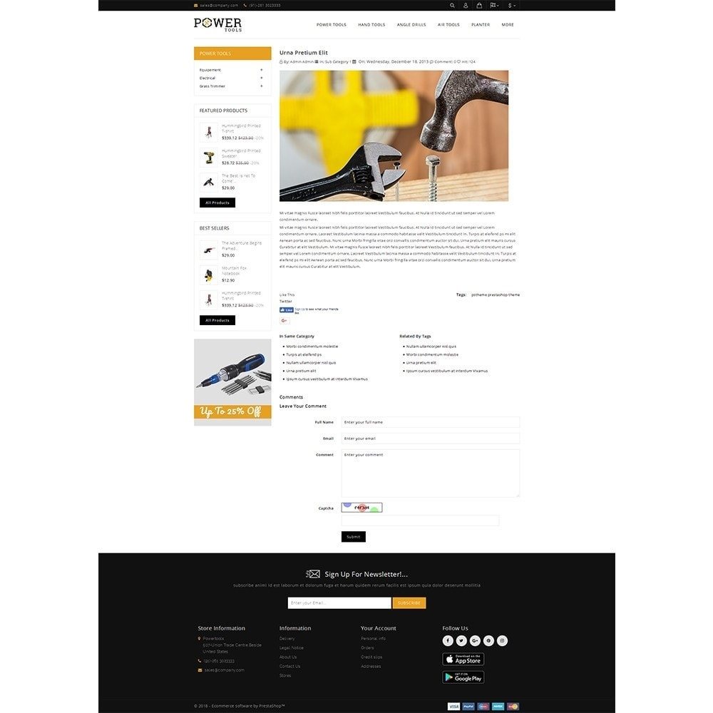 theme - Coches y Motos - PowerTools Store - 6
