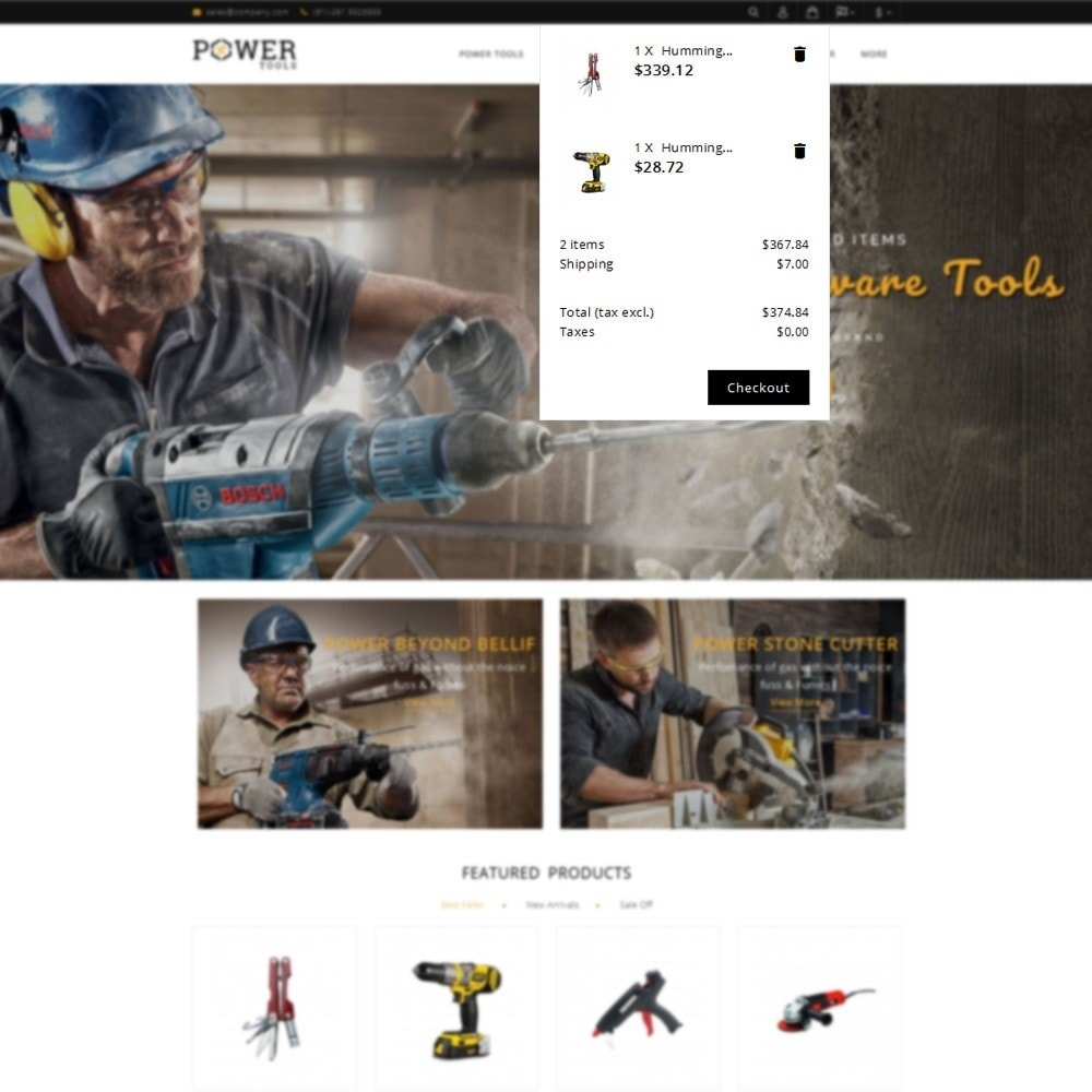 theme - Coches y Motos - PowerTools Store - 8