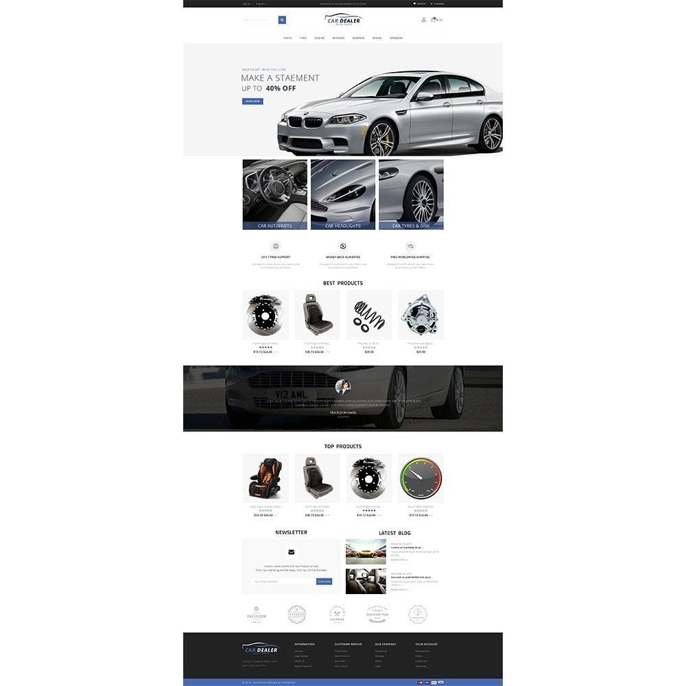 theme - Carros & Motos - Car Dealer Store - 2