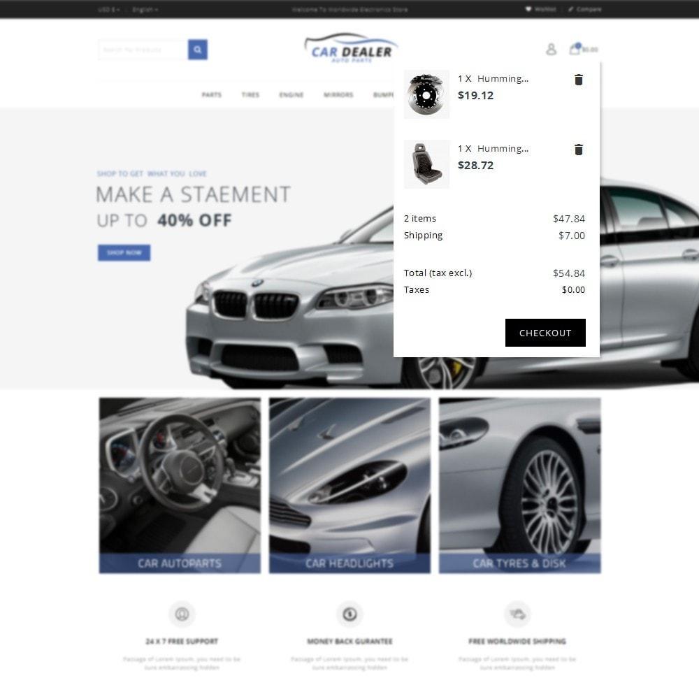 theme - Carros & Motos - Car Dealer Store - 8