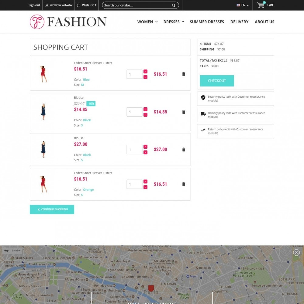theme - Mode & Chaussures - Clothing - Magasin De Mode - 5