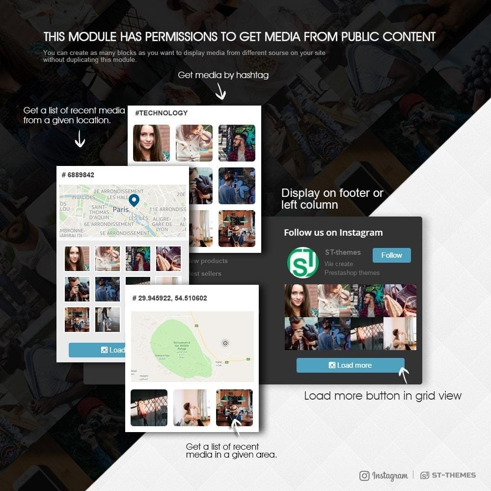 module - Widgety serwisów społecznościowych - Advanced social feed - 2