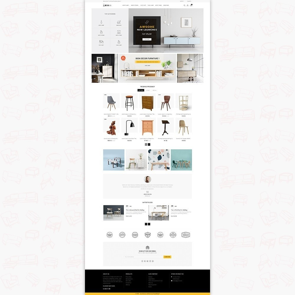 theme - Home & Garden - Minva Furniture Store - 2