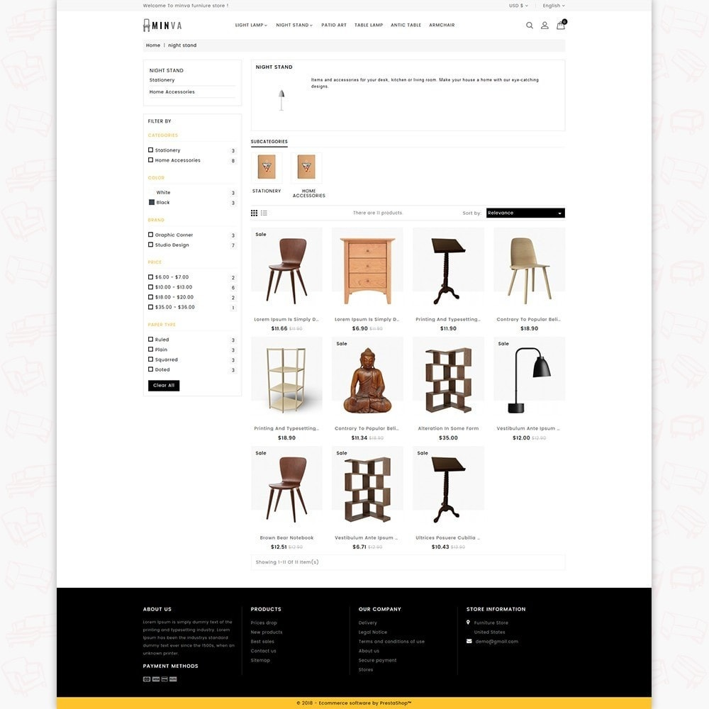 theme - Dom & Ogród - Minva Furniture Store - 3