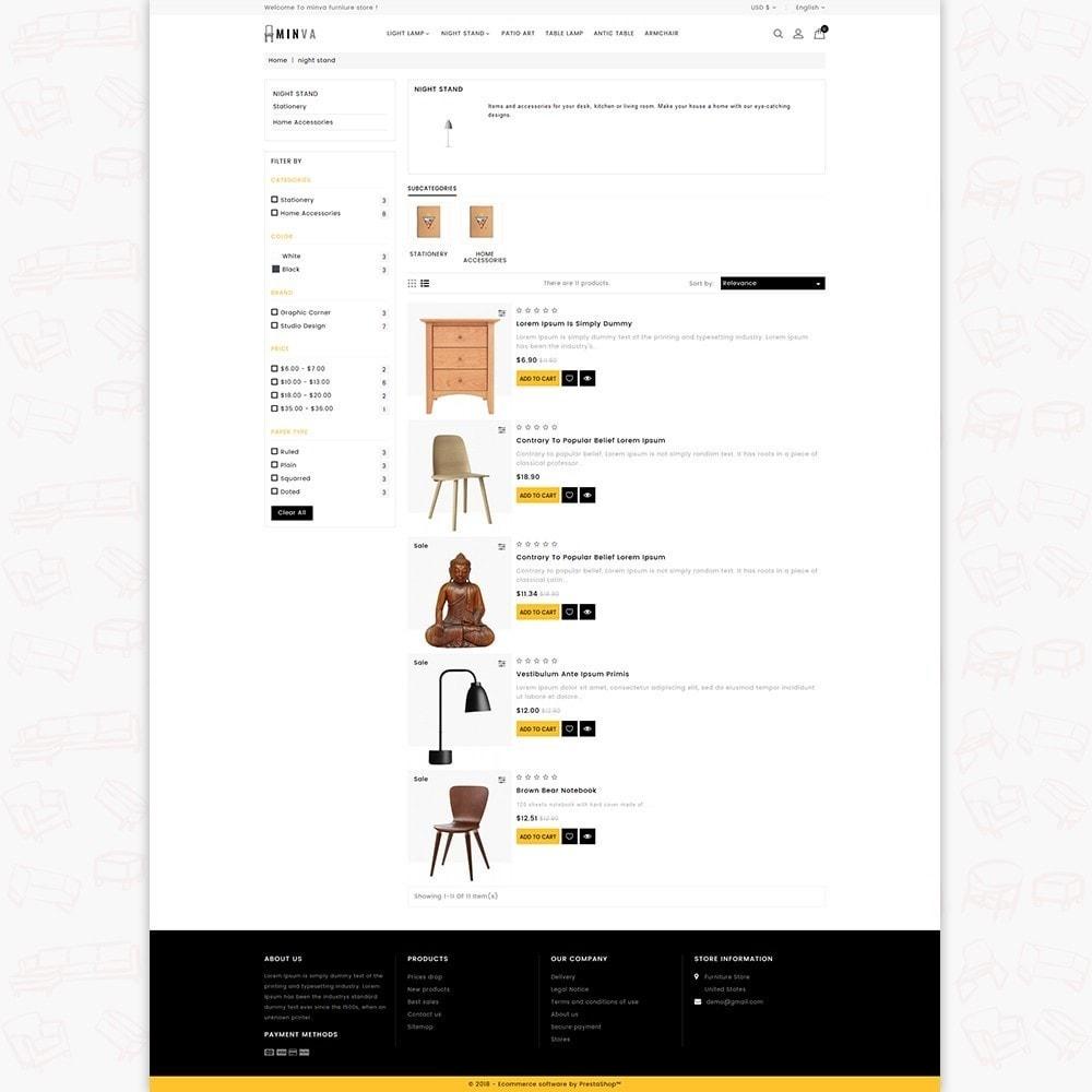 theme - Dom & Ogród - Minva Furniture Store - 4