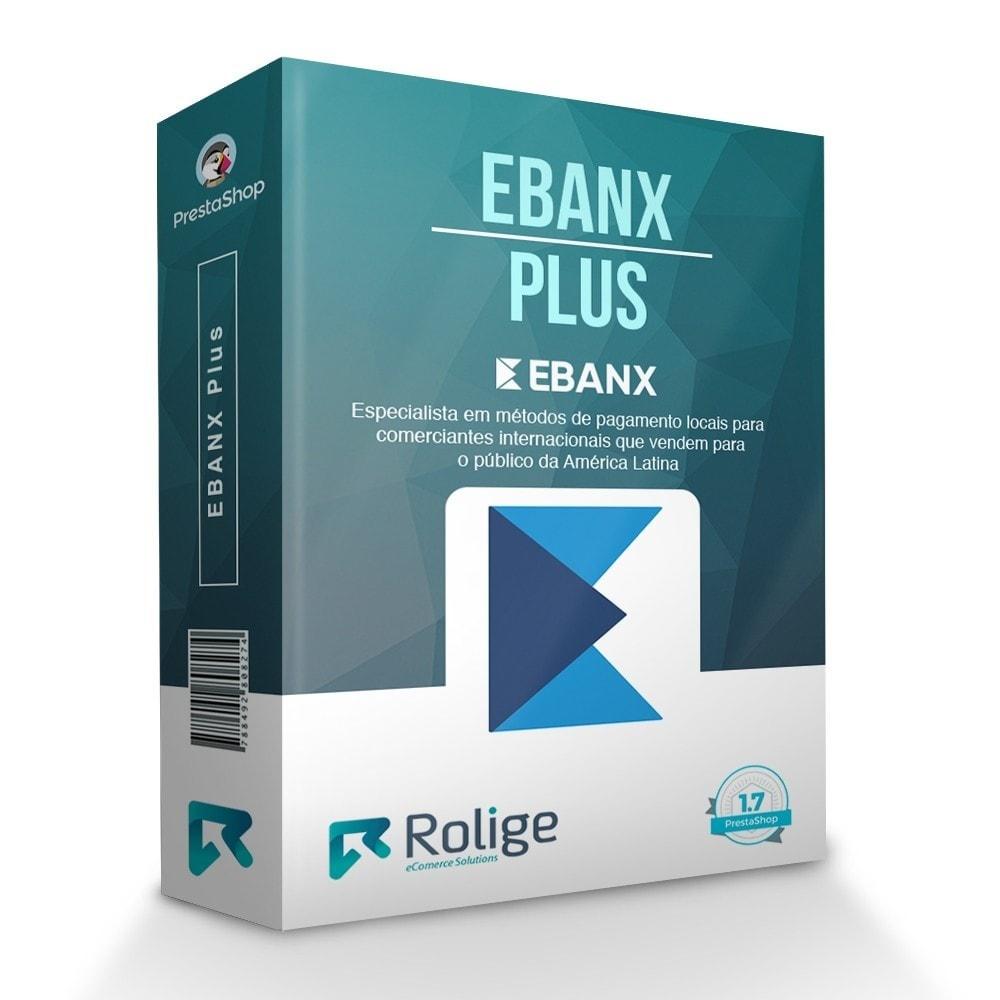 module - Pagamento por cartão ou por carteira - EBANX Plus - 1