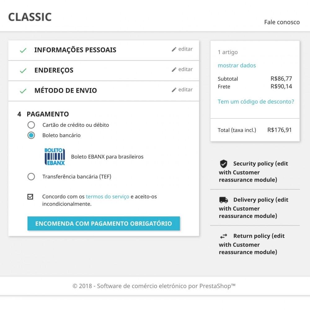 module - Pagamento por cartão ou por carteira - EBANX Plus - 9