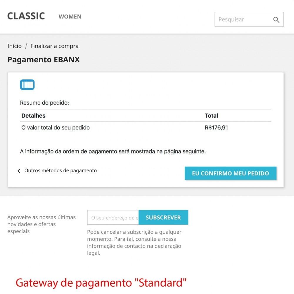 module - Pagamento por cartão ou por carteira - EBANX Plus - 10