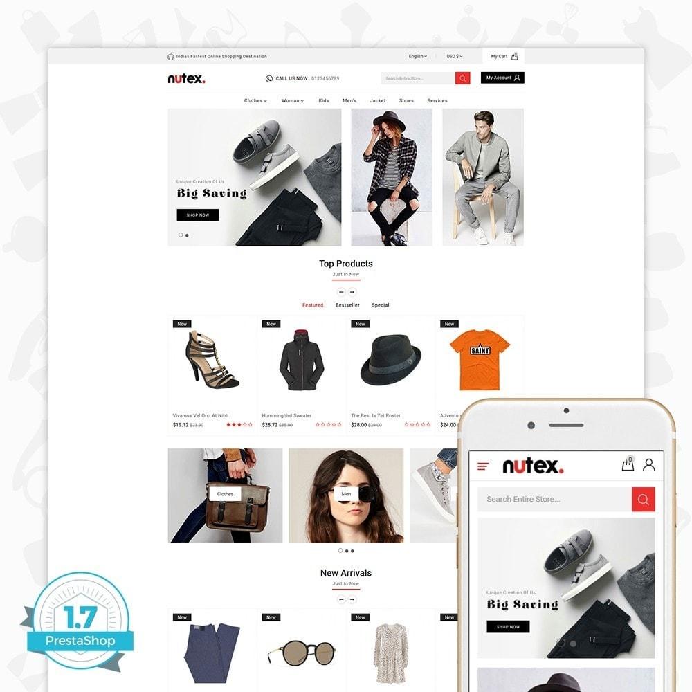 theme - Fashion & Shoes - Nutex - 1