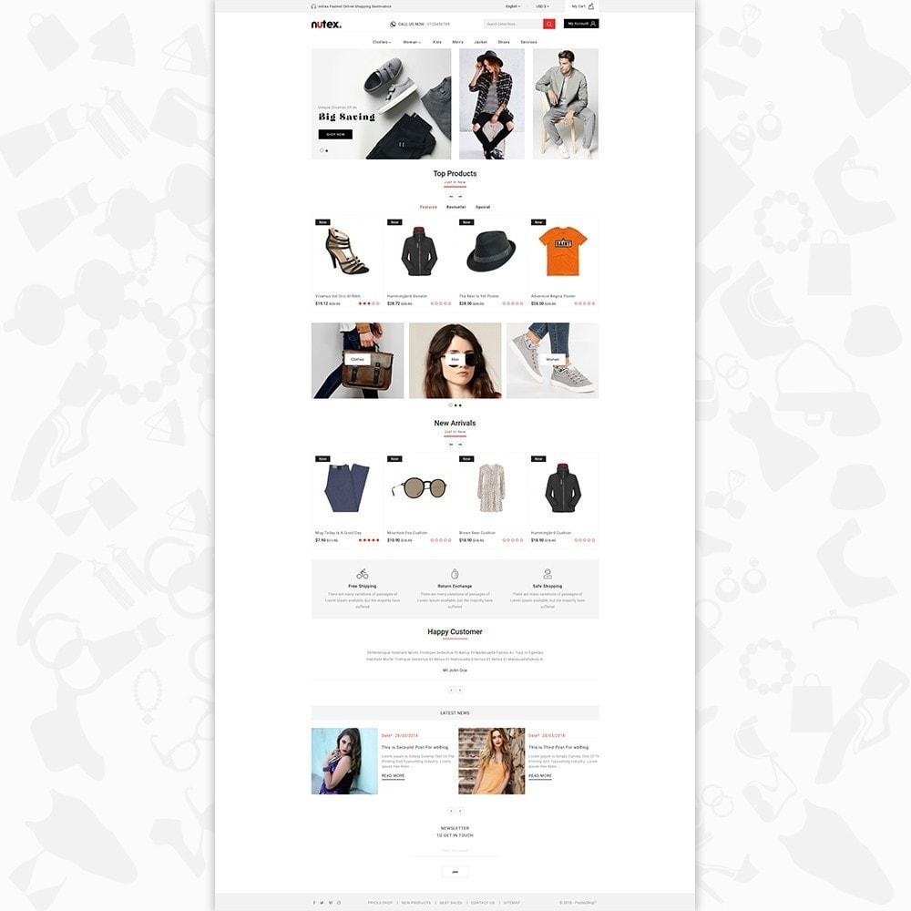 theme - Fashion & Shoes - Nutex - 2