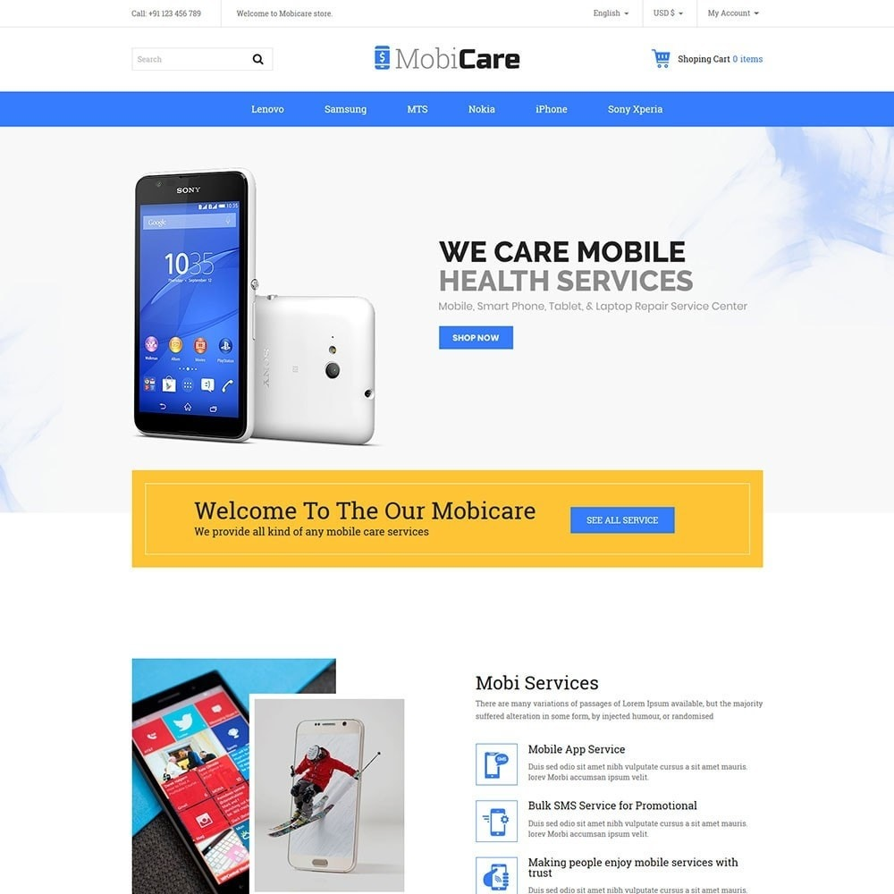 theme - Elektronica & High Tech - Mobicare - Electronics Store - 2