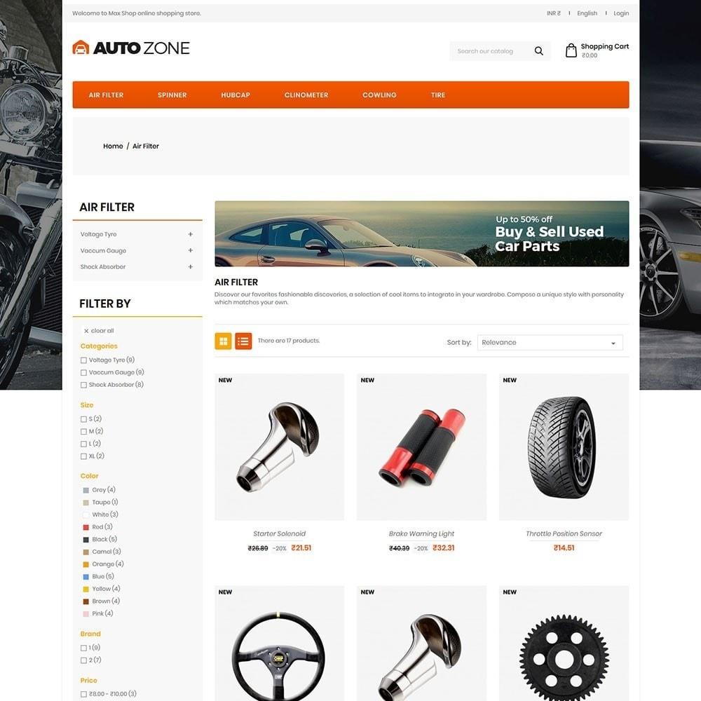 theme - Auto's & Motoren - Autozone - Auto Store - 3