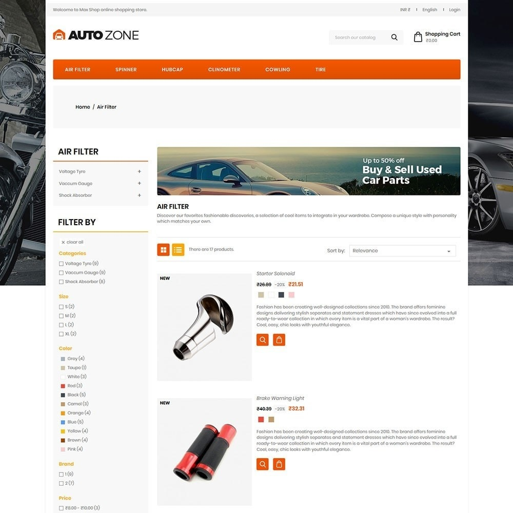 theme - Auto's & Motoren - Autozone - Auto Store - 4