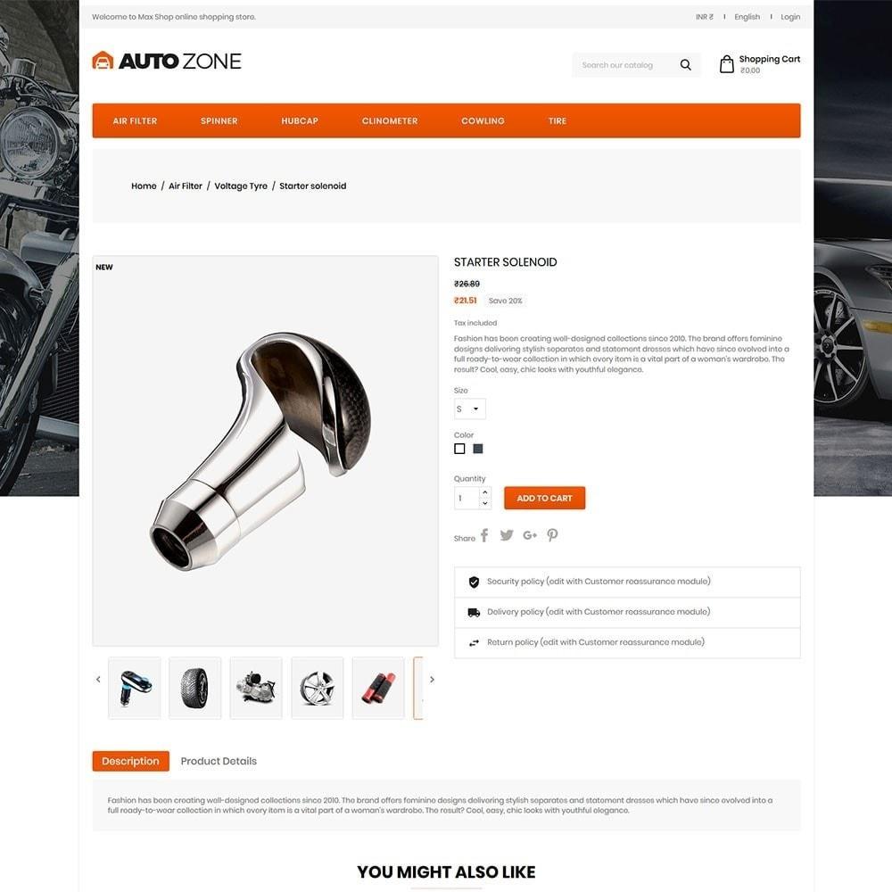 theme - Carros & Motos - Autozone - Auto Store - 5