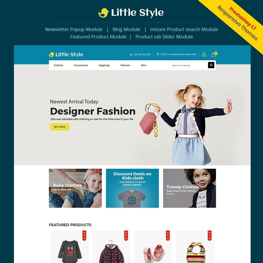 theme - Mode & Schoenen - Little Style Kids Store - 1