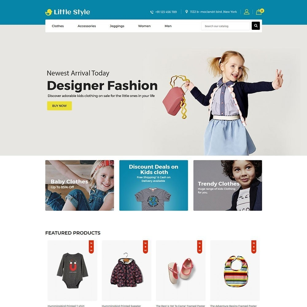 theme - Mode & Schoenen - Little Style Kids Store - 2