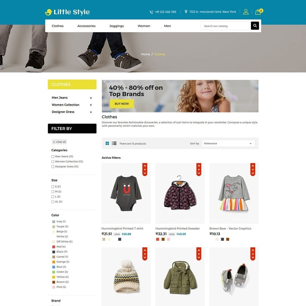theme - Mode & Schoenen - Little Style Kids Store - 3