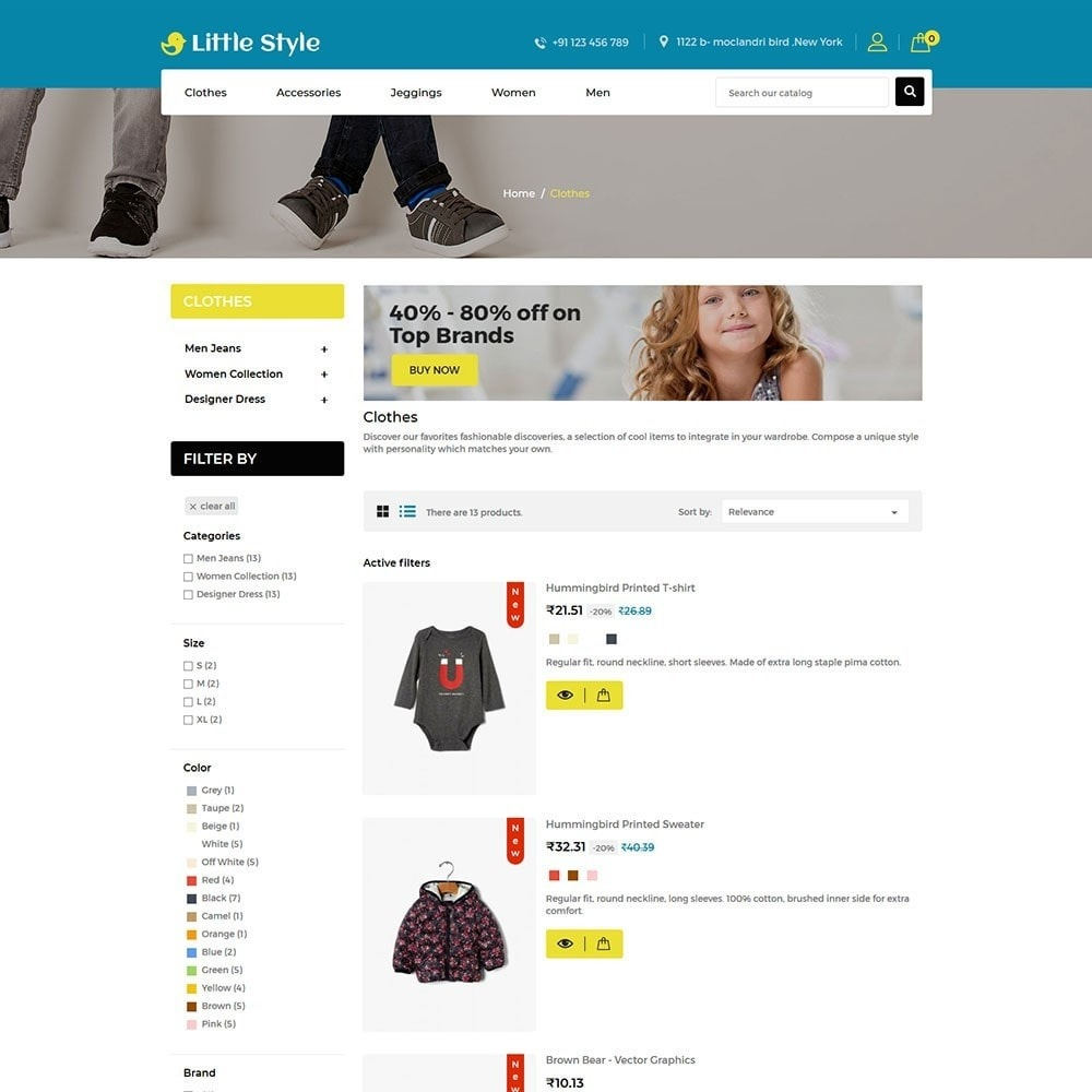 theme - Mode & Schoenen - Little Style Kids Store - 4