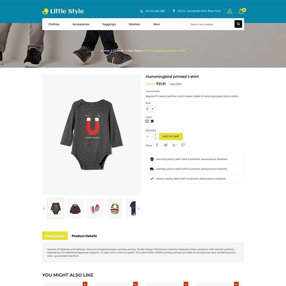 theme - Mode & Schoenen - Little Style Kids Store - 5