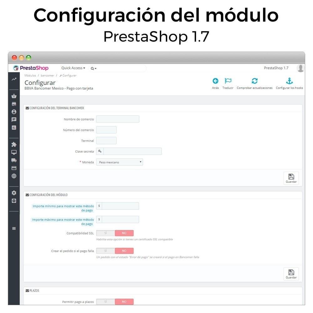 module - Pago con Tarjeta o Carteras digitales - BBVA Bancomer México - Pago con tarjeta (TPV Virtual) - 5