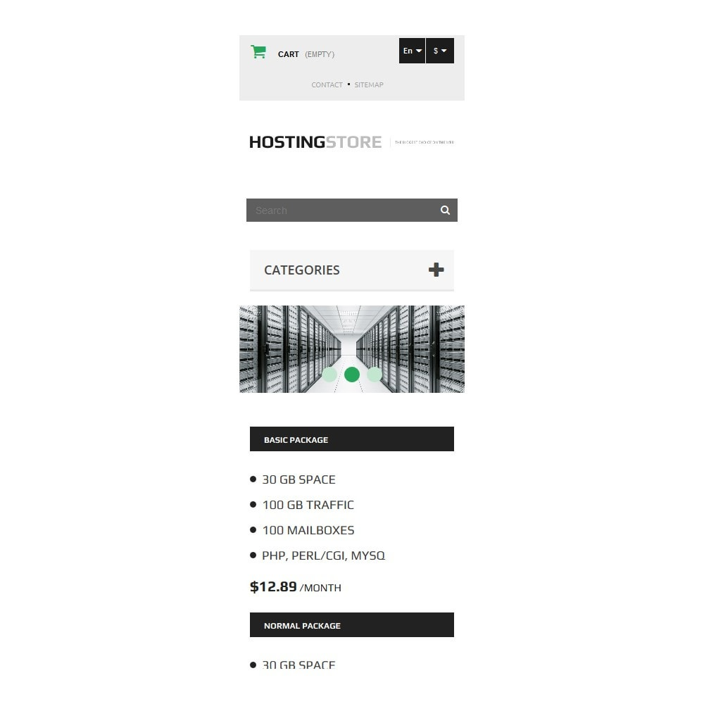 theme - Electronics & Computers - Hosting - 9