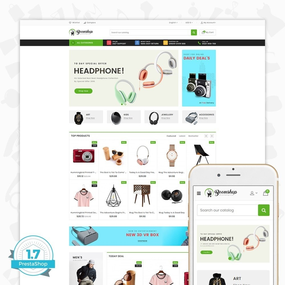 theme - Moda y Calzado - Boomshop - The Fashion Store - 1