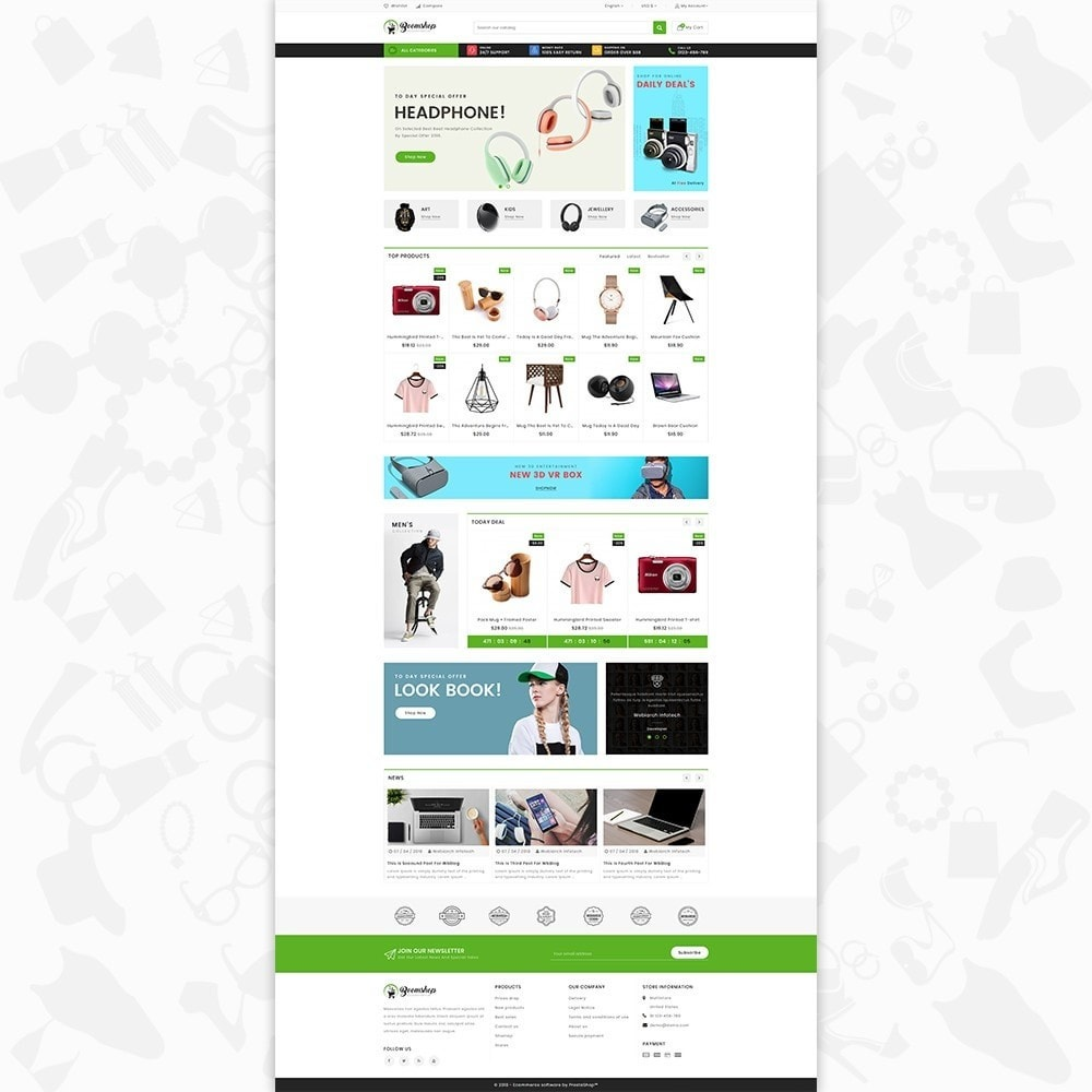 theme - Moda y Calzado - Boomshop - The Fashion Store - 2