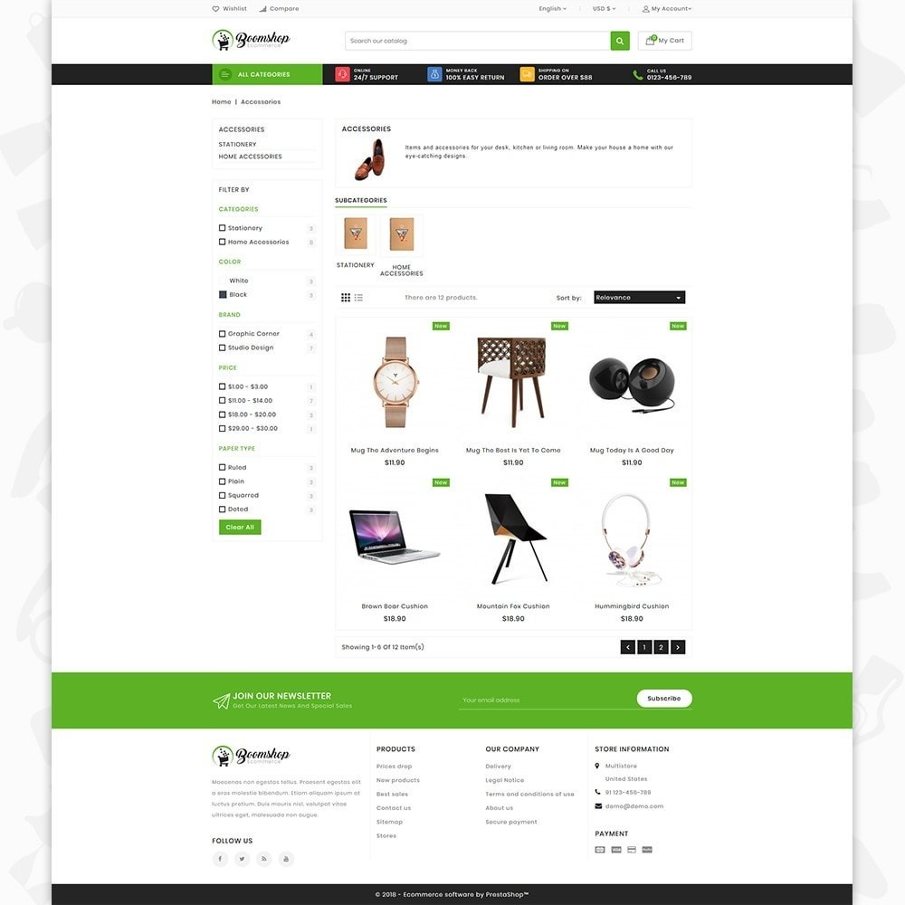 theme - Moda y Calzado - Boomshop - The Fashion Store - 3