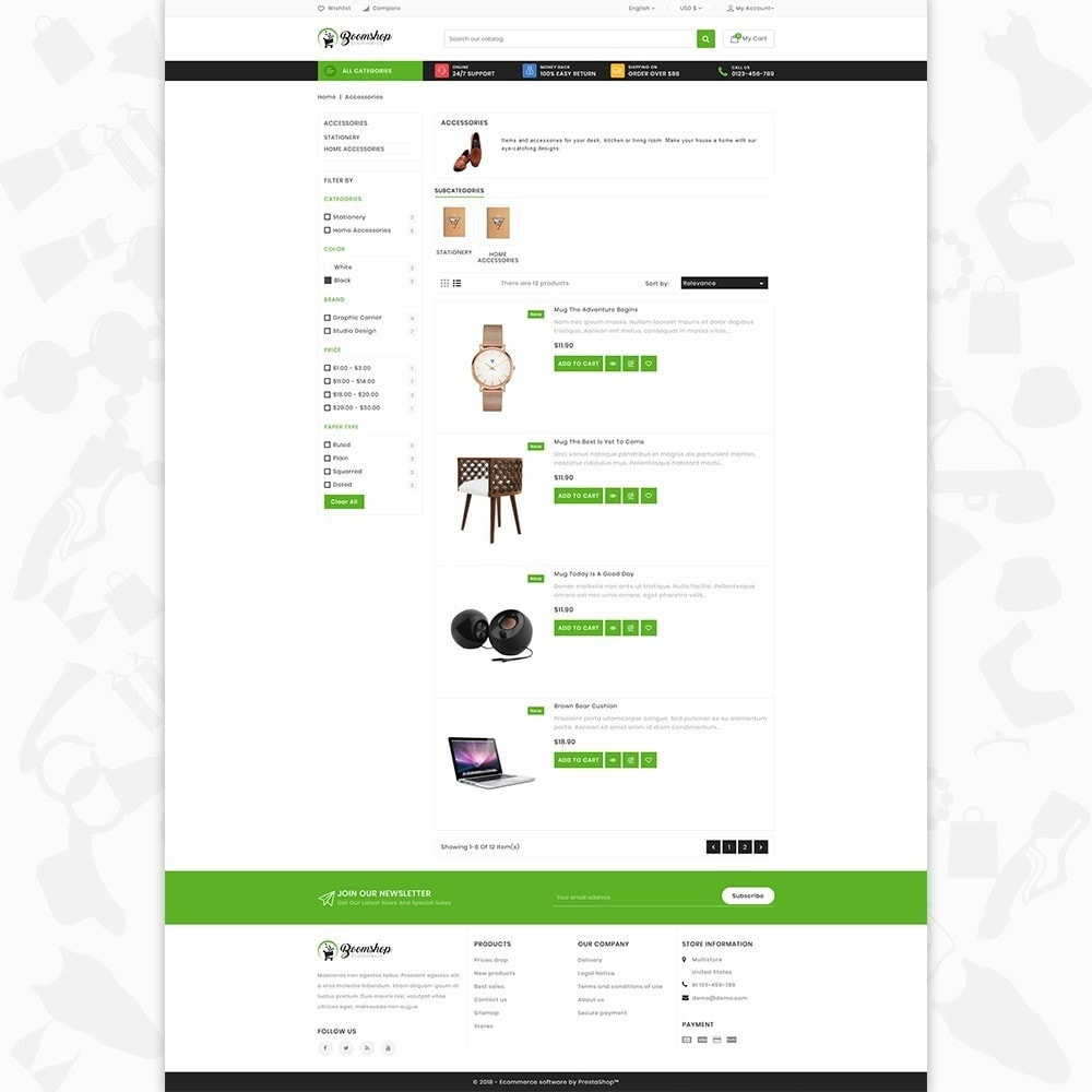 theme - Moda y Calzado - Boomshop - The Fashion Store - 4